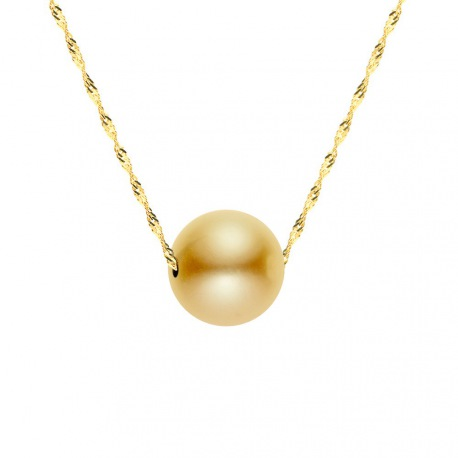 Collier Chaine Singapour en Or Jaune