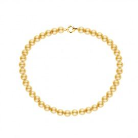 Bracelet Rang de Perles  - Fermoir Or Jaune