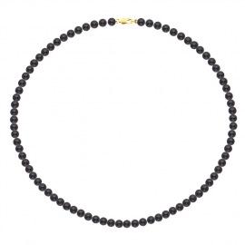 Collier de Perles Fermoir Mousqueton Or Jaune