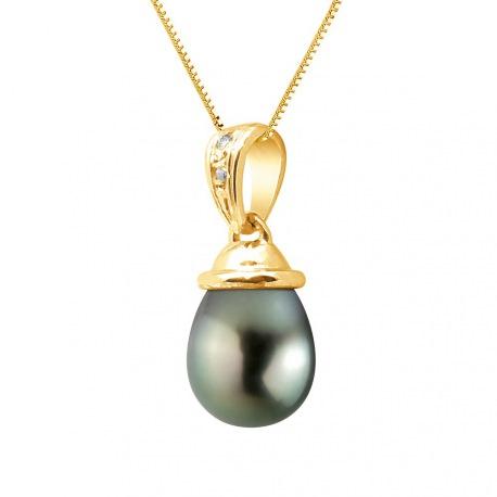 Pendentif Prestige Bélière Articulée Or Jaune Diamants