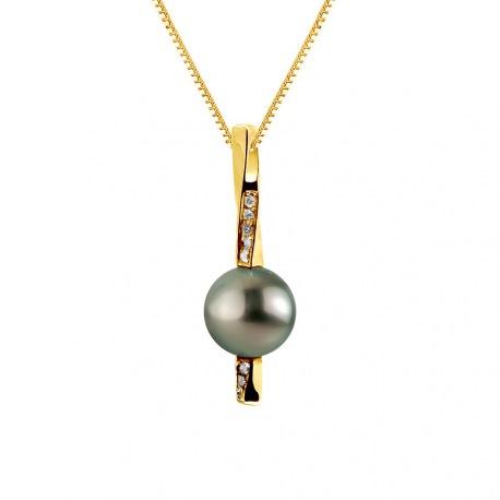 Pendentif Prestige Bélière Pendule Or Jaune   Diamants