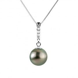 Collier Diamant Or Blanc