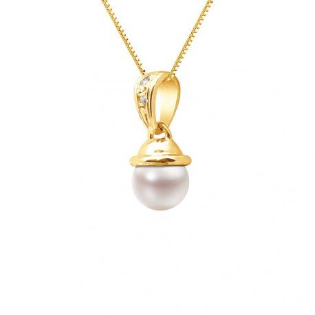Pendentif Prestige Bélière Articulée - & Diamants   en Or Jaune