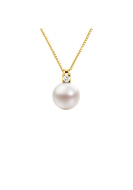 Collier Diamants Chaine Vénitienne en Or Jaune