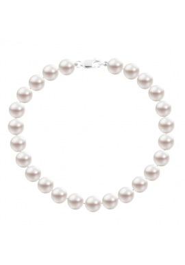 Bracelet Rang  - Fermoir Mousqueton Or Blanc -