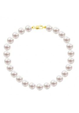 Bracelet Rang  - Fermoir Mousqueton Or Jaune -