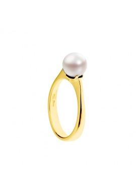 Bague Jonc Joailllerie Or Jaune Sertie Diamant