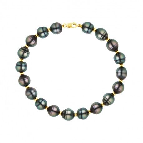 Bracelet Rang - Viroles Or Jaune