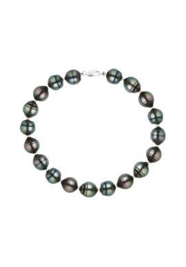 Bracelet Rang - Viroles Or Blanc