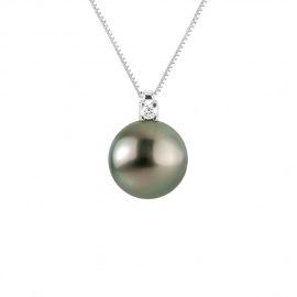 Collier Prestige Diamant Or Blanc
