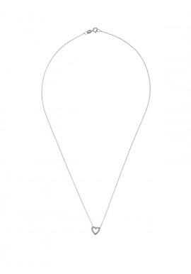 Collier Véritables Diamants 0,07 Carats