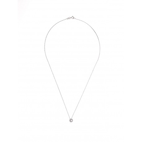 Collier Véritables Diamants 0,13 Carats