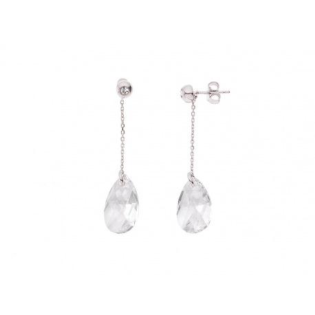 Boucles d'Oreilles Véritable Crystal SWAROVSKI