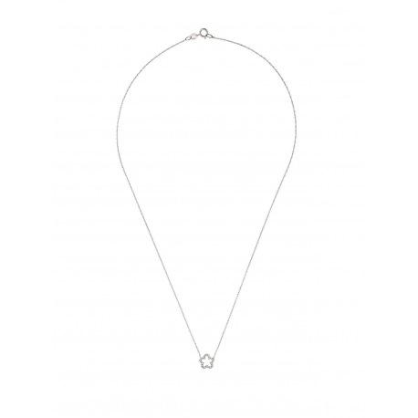 Collier Véritables Diamants 0,08 Carats