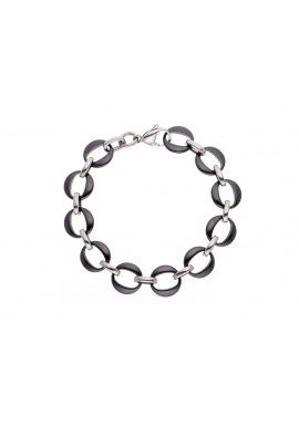 Bracelet Triple Maille Anneau Céramique