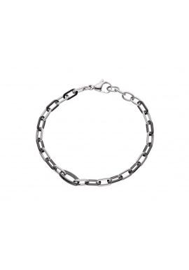 Bracelet Maille Forçat Anneau Céramique