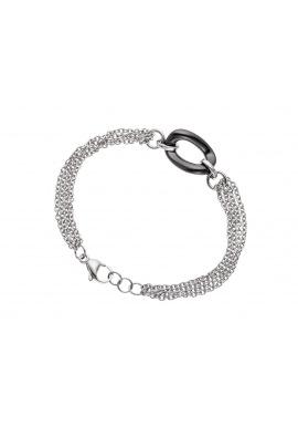 Bracelet Maille avec Anneau Céramique