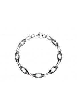 Bracelet Maille Anneau Céramique