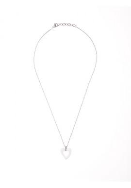 Collier Céramique - Motif Cœur -