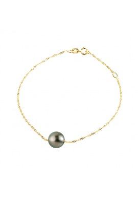 Bracelet Maille Singapour en Or Jaune